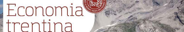 Economia trentina - Camera di Commercio di Trento