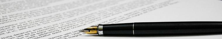 penna con documento