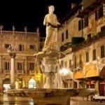 Verona, particolare Piazza delle Erbe