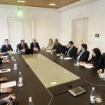 Foto dell'incontro fra CCIAA e delegazione Vietnam