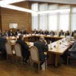 Immagini partecipanti all'incontro camere Euregio